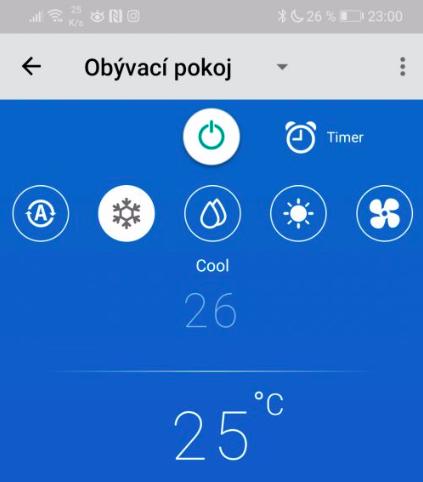 Klimatizace Toshiba - nastaveni WIFI modulu