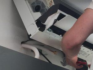 Instalace vnitřní jednotky klimatiazce Toshiba Shorai Premium