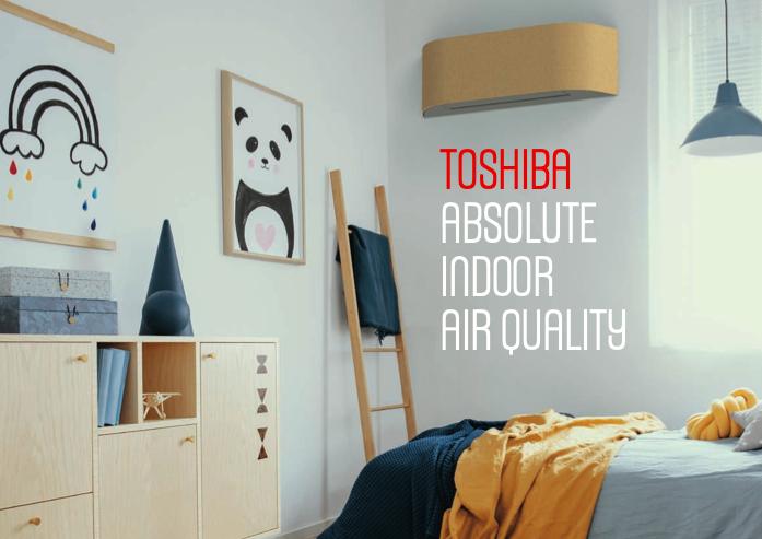 klimatizace TOSHIBA HAORI individuální barva
