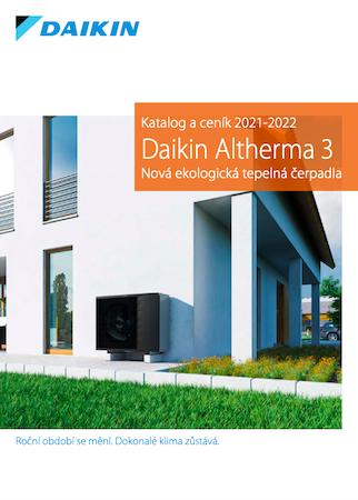 Katalog tepelných čerpadel DAIKIN ALTHERMA 3