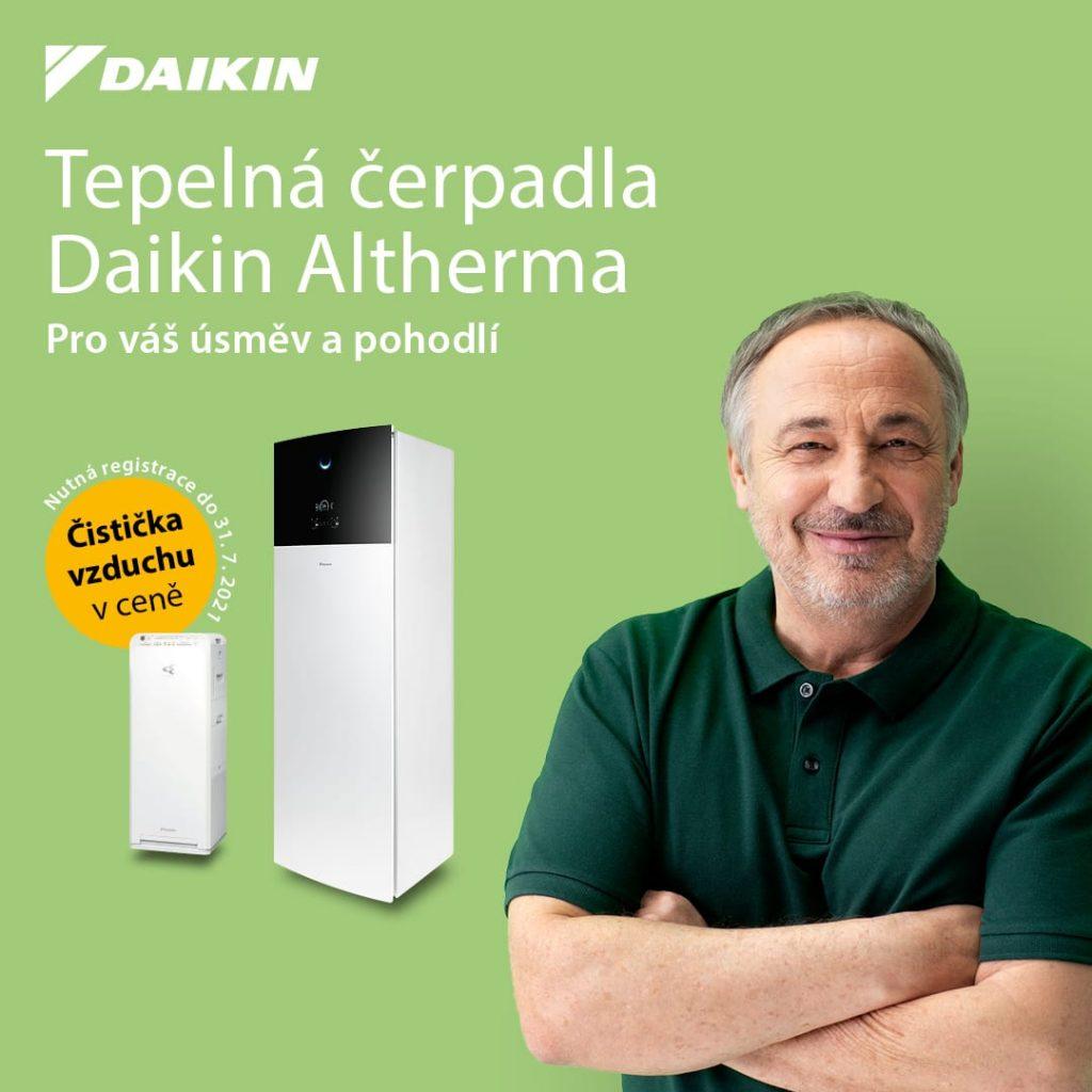 Daikin Alteherma - akce čistička vzduchu zdarma