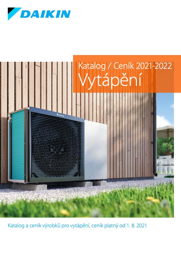 2021-08-01 DAIKIN Ceník vytápění tepelná čerpadla Altherma instalace NODIP